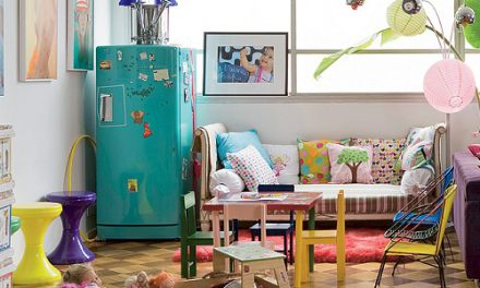 Come decorare un frigo bianco?